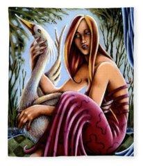Swamp Song Fleece Blanket