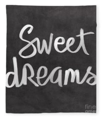 Sweet Dreams Fleece Blanket