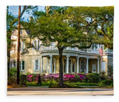 Sweet Home New Orleans Paint Fleece Blanket