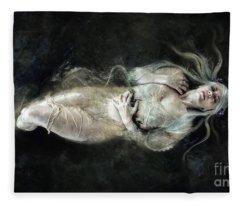 Sweet Ladies Goodnight Fleece Blanket