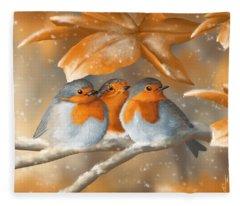 Sweet Nature Fleece Blanket