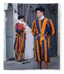 Swiss Guard Fleece Blanket