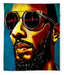 Swizz Beatz Fleece Blanket