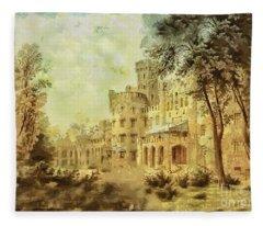 Sybillas Palace Fleece Blanket