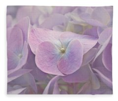 Symphony In Purple Fleece Blanket