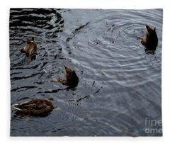Synchronised Swimming Team Fleece Blanket