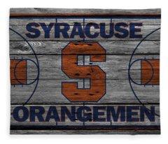 Syracuse Orangemen Fleece Blanket