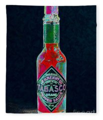 Tabasco Sauce 20130402 Fleece Blanket