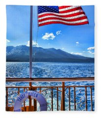 Tahoe Queen Lake Tahoe By Diana Sainz Fleece Blanket