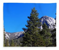 Tahquitz Rock - Lily Rock Fleece Blanket