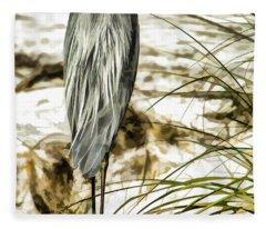 Tail Feathers Fleece Blanket