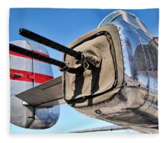 Tail Gunner Fleece Blanket