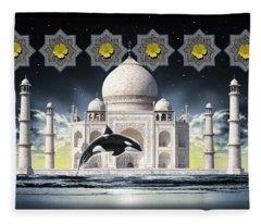 Taj Fleece Blanket