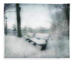 Take A Seat Fleece Blanket