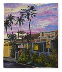 Take Home Maui Fleece Blanket