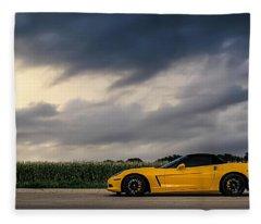 Take The Long Way Fleece Blanket