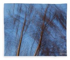 Talking Trees Fleece Blanket