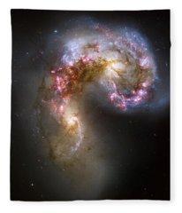 Tangled Galaxies Fleece Blanket