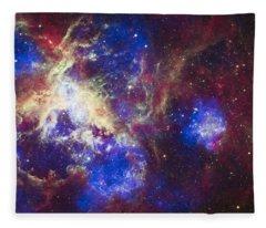 Tarantula Nebula Fleece Blanket