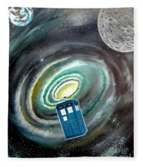 Tardis Fleece Blanket