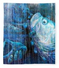 Tarpon Flats Fleece Blanket
