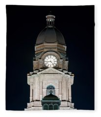 Tarrant County Courthouse V2 020815 Fleece Blanket