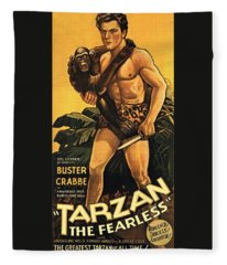 Tarzan The Fearless  Fleece Blanket