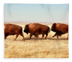 Tatanka Fleece Blanket