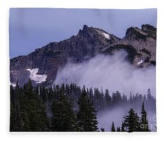 Tatoosh Range Fleece Blanket