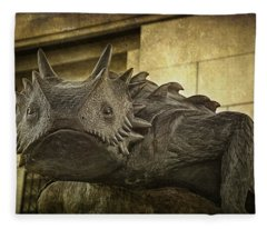 Tcu Horned Frog Fleece Blanket