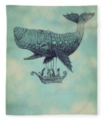 Tea At Two Thousand Feet Fleece Blanket