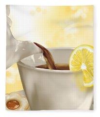 Tea Time Fleece Blanket