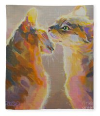 Telling Secrets Fleece Blanket