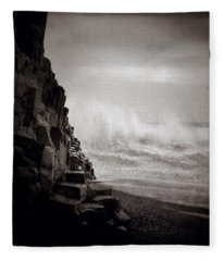 Raging Sea Fleece Blanket