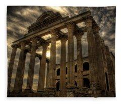 Temple Of Diana Fleece Blanket