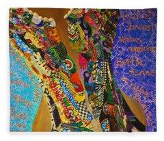 Temple Of The Goddess Eye Vol 1 Fleece Blanket