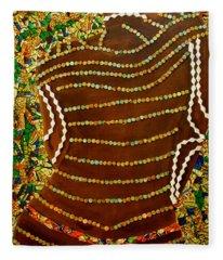 Temple Of The Goddess Eye Vol 2 Fleece Blanket