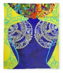 Temple Of The Goddess Eye Vol 3 Fleece Blanket