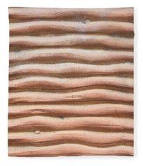 Terracotta Background Fleece Blanket