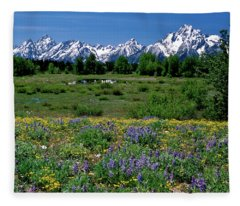 Teton Grandeur Fleece Blanket