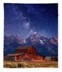 Teton Nights Fleece Blanket