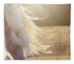 Texas Gold Fleece Blanket