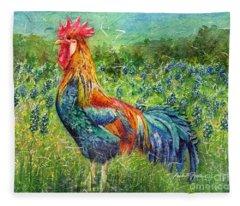 Texas Glory Fleece Blanket