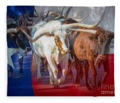 Texas Longhorns Fleece Blanket
