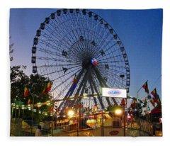 Texas State Fair Fleece Blanket