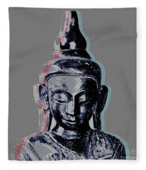 Thai Buddha #2 Fleece Blanket