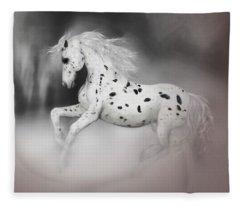 The Appaloosa Fleece Blanket