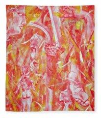 The Art Of Sculptures Fleece Blanket