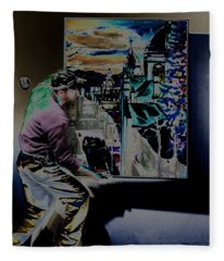 The Artist Paul Emory Fleece Blanket