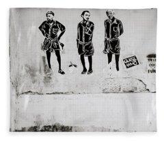 The Trio  Fleece Blanket